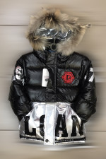 Зимняя модная детская куртка для мальчиков