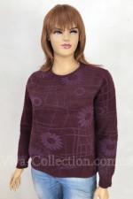 Тёплый пушистый свитер «Ромашка»