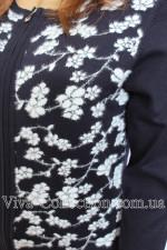Женская кофта на молнии, болшьшой размер, (Опт, розница)