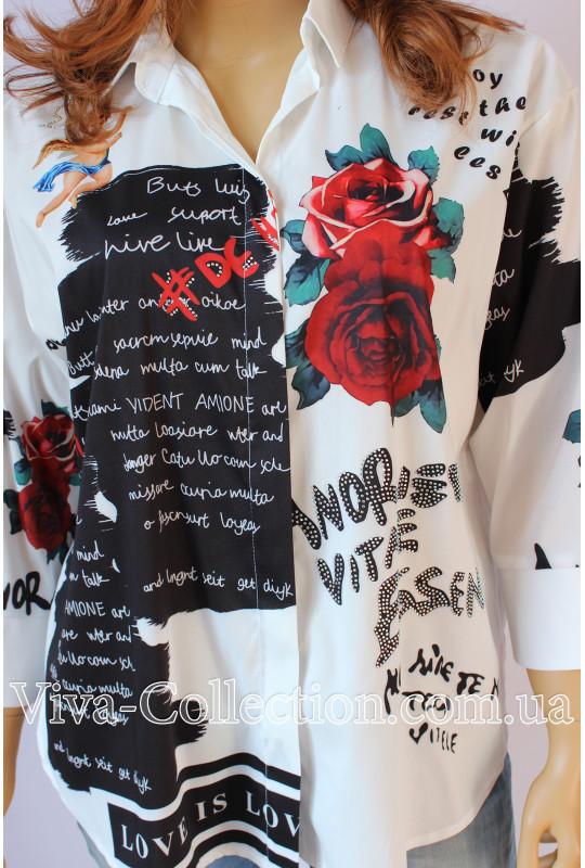 """Женская Турецкая рубашка """"Ангел"""""""