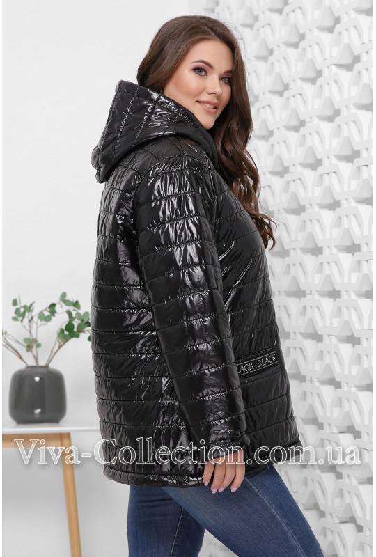 """Черная демисезонная куртка """"Black"""""""