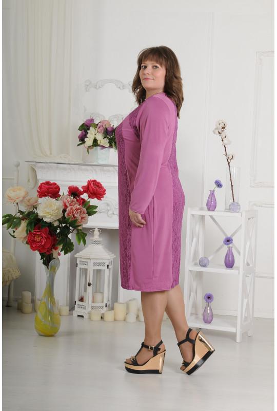 """Элегантное женское платье """"Гипюр"""""""