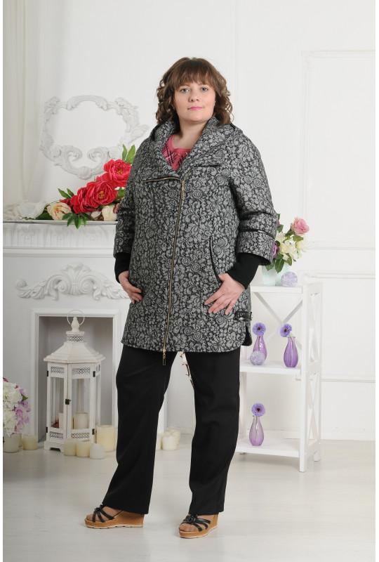 Женское демисезонное пальто из кашемира