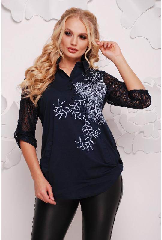 Женская нарядная рубашка