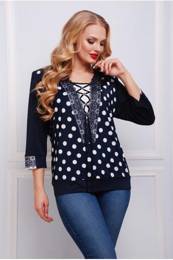 Блуза Горошек