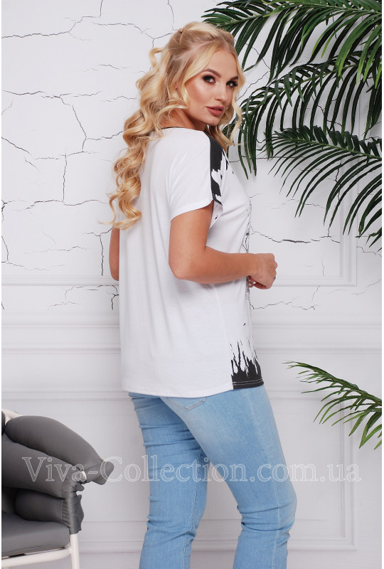 """Женская хб футболка """"Лилия"""""""
