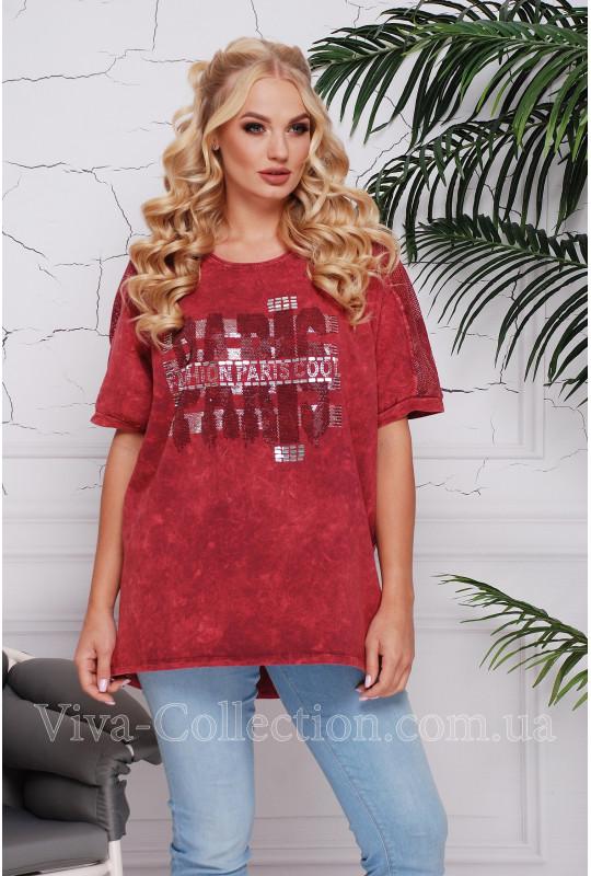 Женская котоновая футболка (варенка)