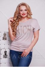 Женская футболка из вискозы, Турция.