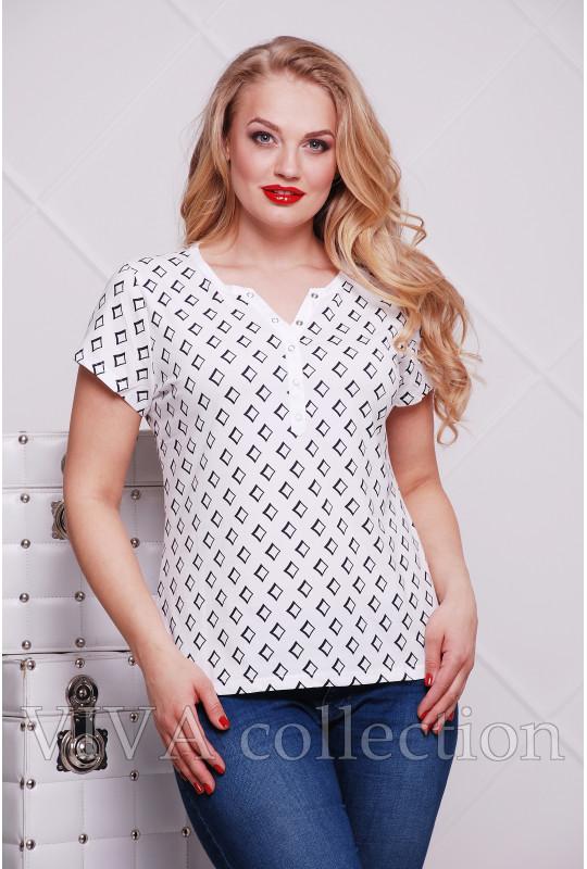 Женская футболка батник