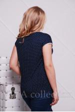 Женская футболка в горошек