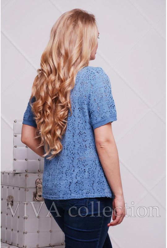 Женская футболка «Гипюр»