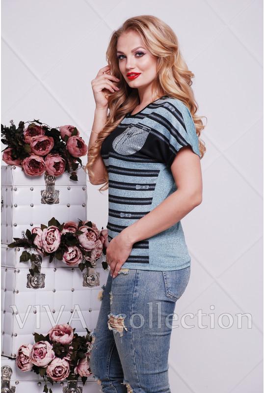 """Женская футболка """"Молния"""""""