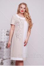 Женское платье из льна