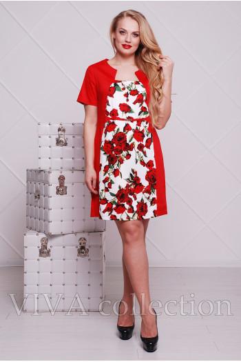 """Платье """"Роза"""" 0114"""