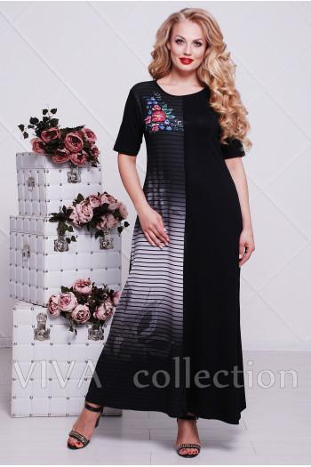 Платье в пол 009