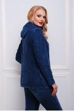 Женская ветровка из плотного трикотажа под джинс