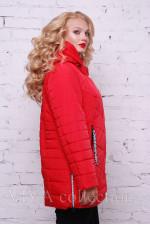 """Женская демисезонная куртка """"Асимметрия"""""""